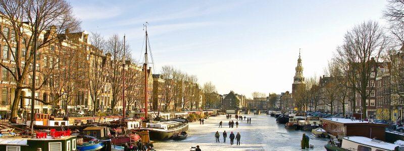 Een huis aan de Binnenkant Amsterdam